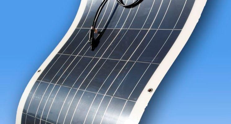 Esempio di pannello fotovoltaico flessibile.