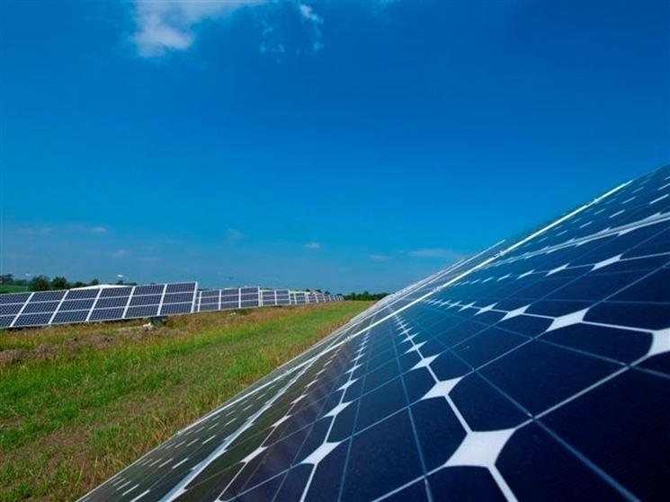 Esempio di impianto fotovoltaico.