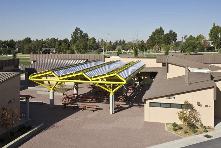 Le pensiline fotovoltaiche sono sempre più utilizzate