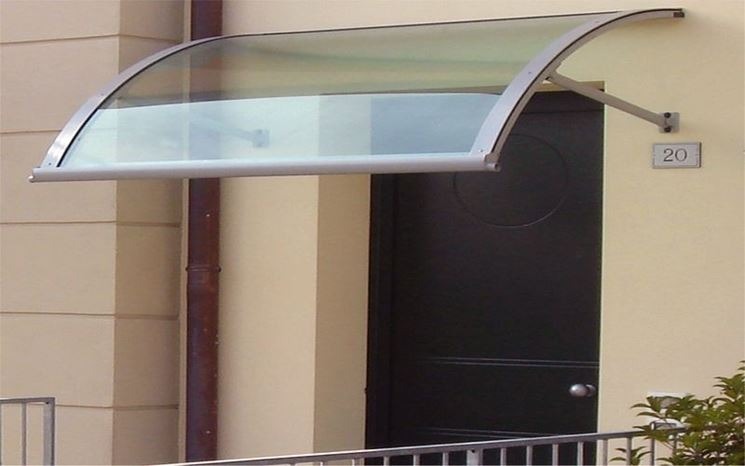 Pensilina in plexiglass