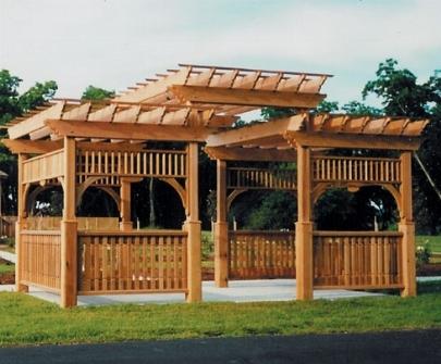 Pergolati gazebo pergole e tettoie da giardino - Pergola da giardino ...