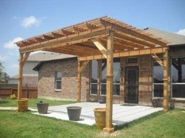 Pergolati in legno pergole e tettoie da giardino - Pergole da giardino ...