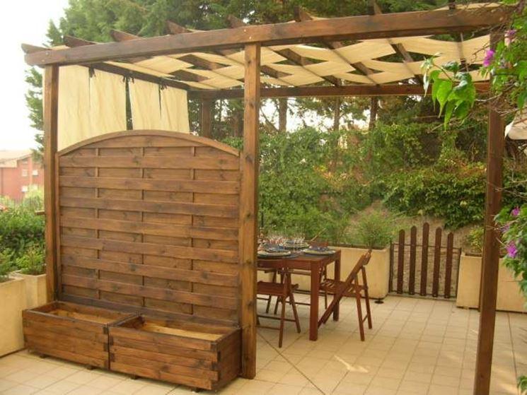 Pergolato fai da te pergole e tettoie da giardino - Copritermosifoni in legno fai da te ...