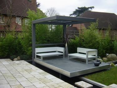 Pergole in ferro pergole e tettoie da giardino for La sedia camomilla
