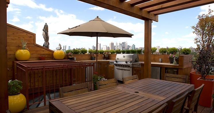 Mobili Per Terrazzo: Arredamento per balconi verande terrazzi pergole ...