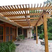 strutture in legno per esterni