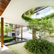tetto da giardino panoramico