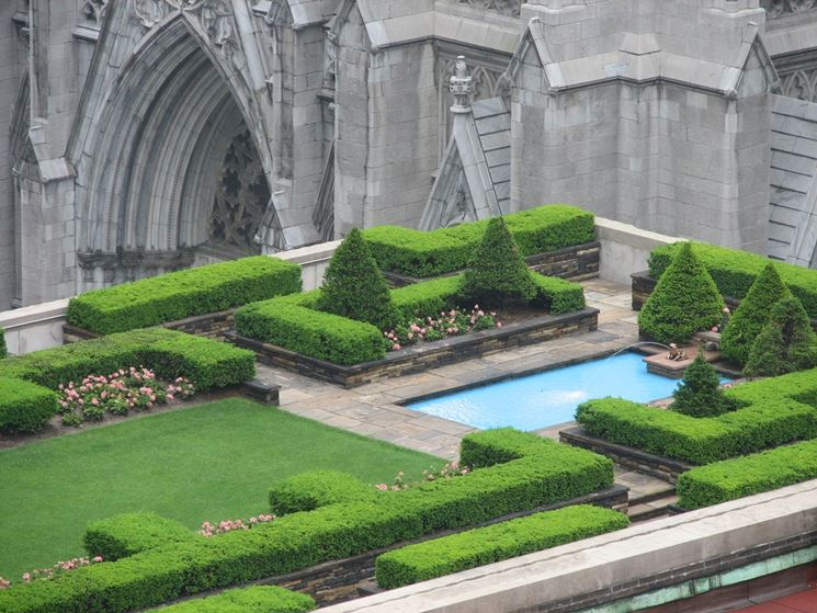 il tetto da giardino per la zona relax
