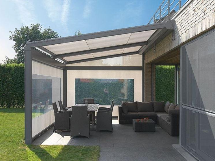 Tettoie per terrazzi - Pergole e tettoie da giardino - Costruire una ...