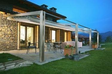 Verande in legno pergole e tettoie da giardino - Verande da giardino in legno ...