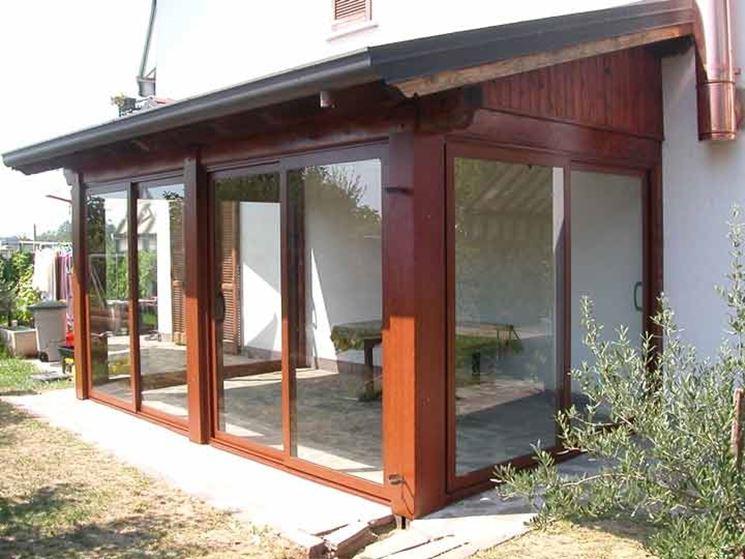 Verande per terrazzi pergole e tettoie da giardino - Tettoie in legno per esterno ...