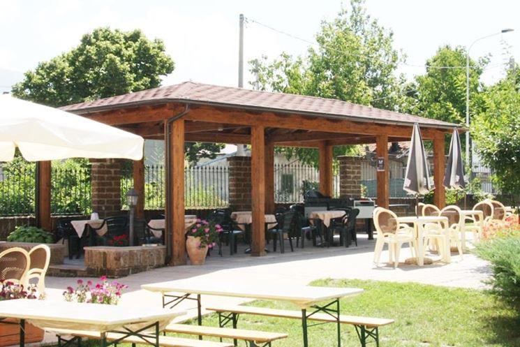 Verande per terrazzi pergole e tettoie da giardino for Verande arredate