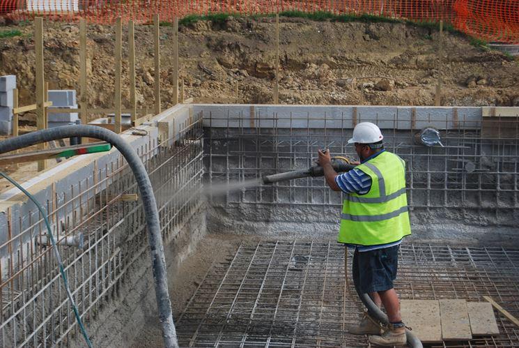 Manodopera per costruzione piscine