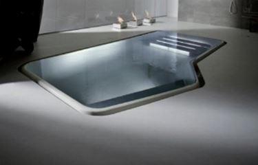 piscina di design.