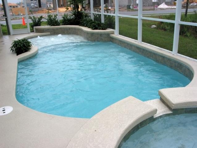 Minipiscine piscine for Arredamento piscine