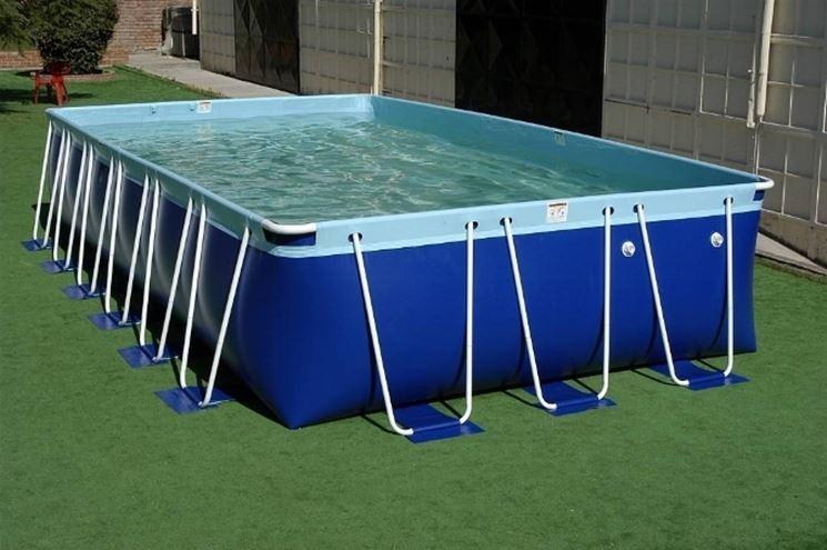 piscina in kit.