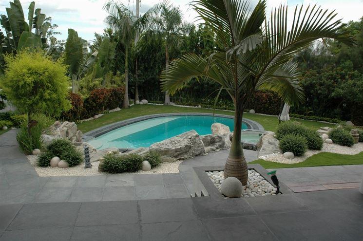Piscine in muratura piscine - Piccole piscine da giardino ...