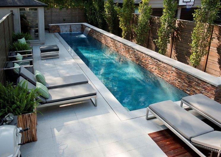 Una meravigliosa piscina da sogno