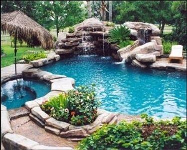 piscina tropicale.