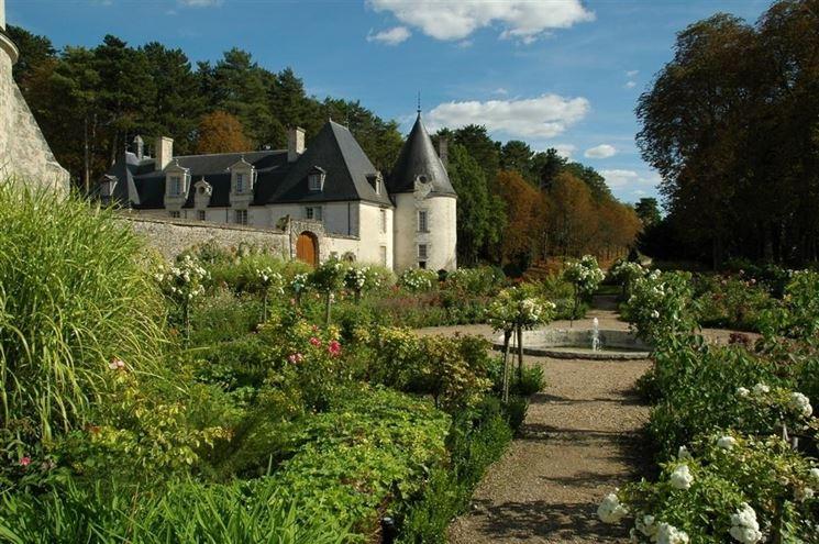 Un giardino nella valle della Loira
