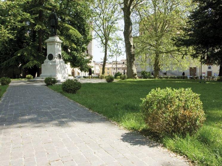 Citt� di Castello giardino