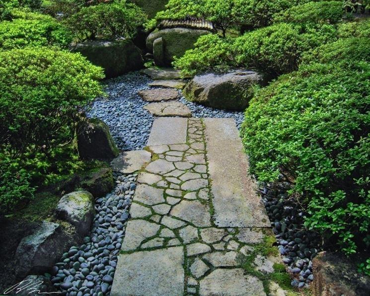 camminamento in pietra