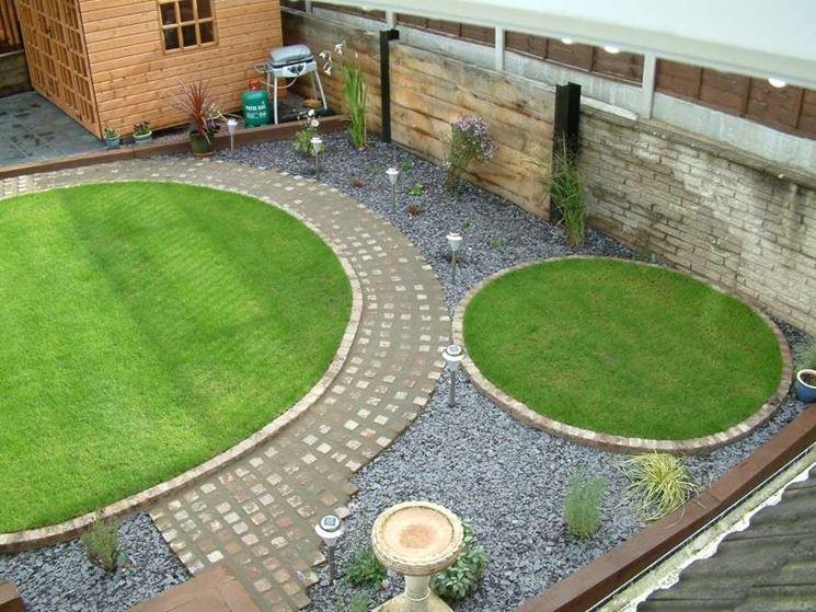 Estremamente Creazione giardini privati - Progettazione giardini - Come creare  FR85