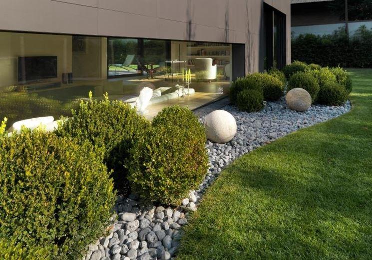 ghiaia per giardini progettazione giardini ghiaia per