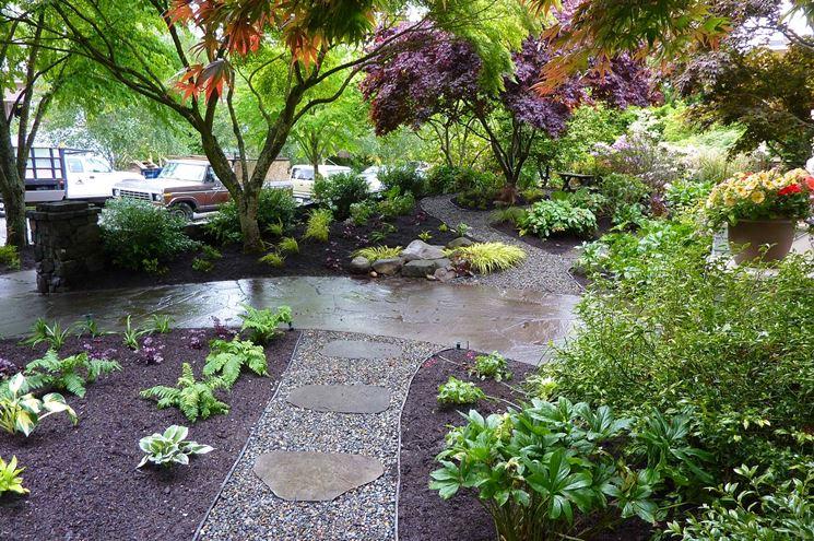 Top Ghiaia per giardino - Progettazione giardini - Giardino con ghiaia ED05