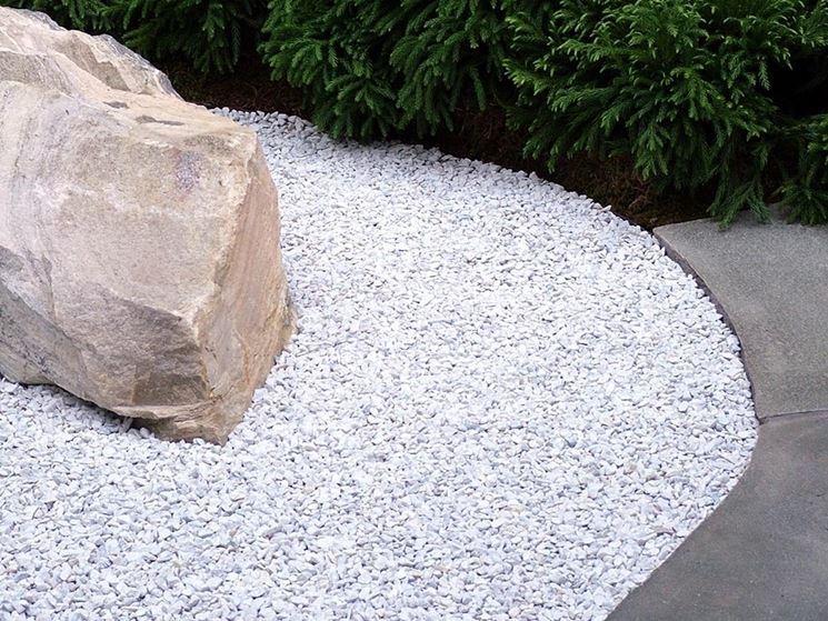 Estremamente Progettazione giardini : la ghiaia IZ19