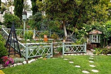 Giardino a terrazze privato