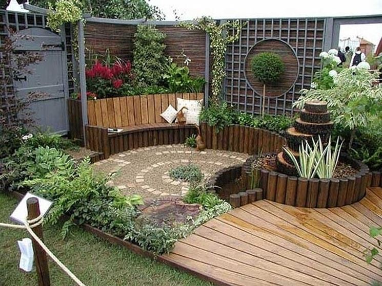 Top Giardini di piccole dimensioni - Progettazione giardini  ES34
