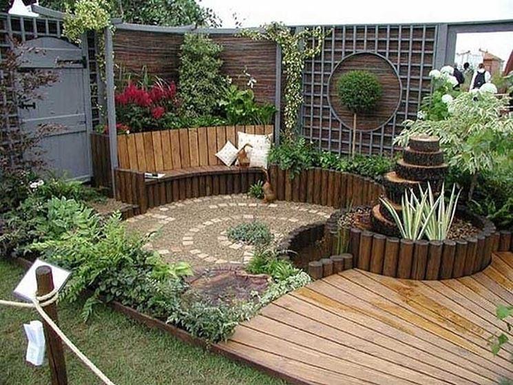 Bellissimo piccolo giardino