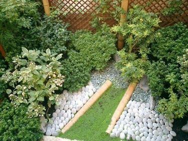 esempio di giardino in terrazza