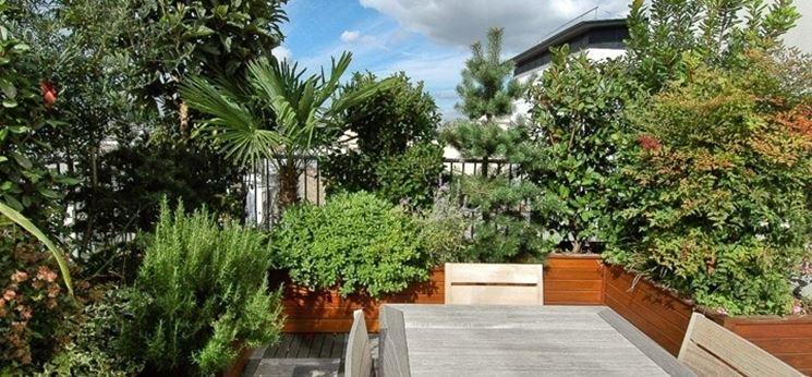 realizzazione giardini in terrazza