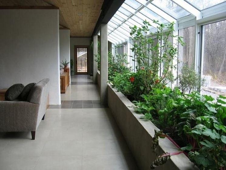 giardino interno laterale