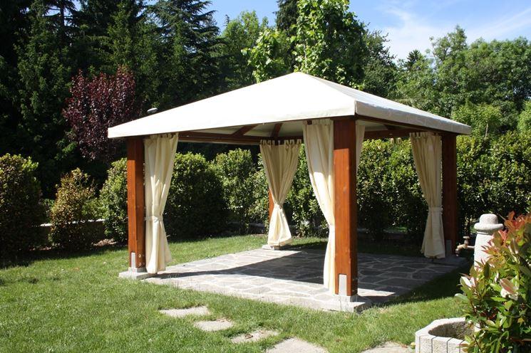 giardino vivibile gazebo