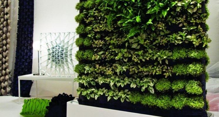 giardino verticale da interno