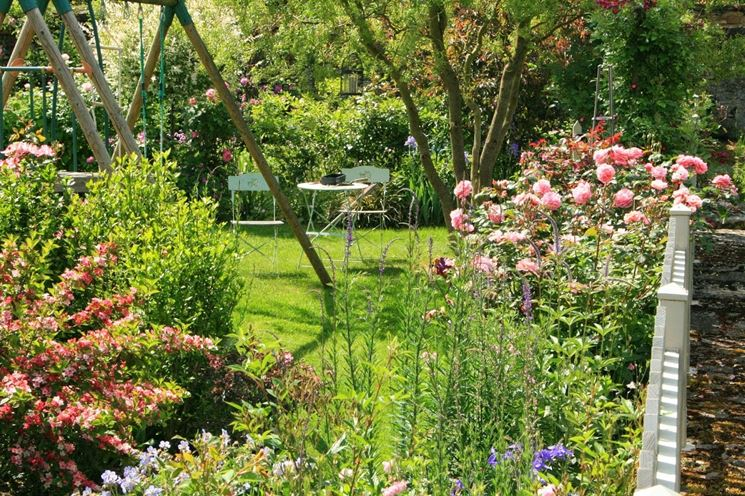 Idee giardino fai da te progettazione giardini creare - Idee per aiuole giardino ...
