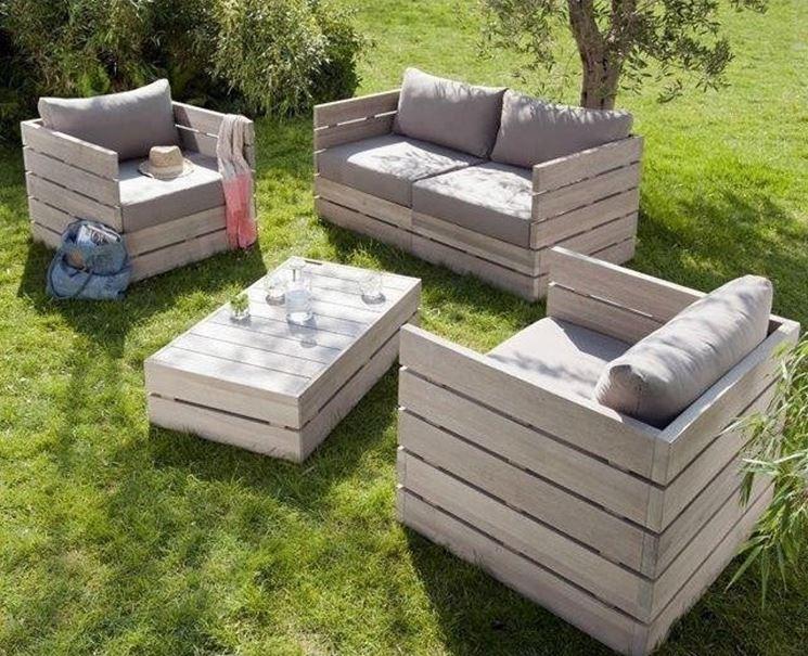 idee giardino fai da te - progettazione giardini - creare un giardino - Fai Da Te Mobili Da Giardino Esterno