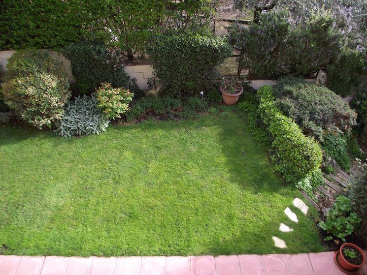 Piccoli giardini progettazione giardini arredamento - Foto di giardini fioriti ...