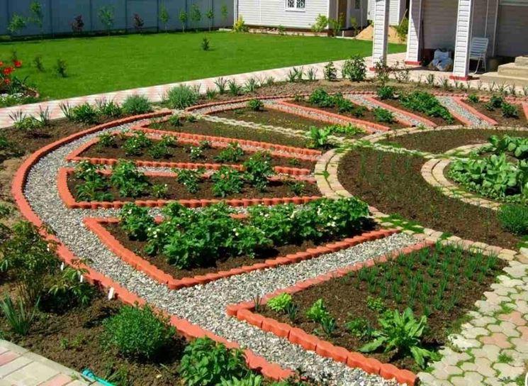 Progettare un orto progettazione giardini costruire orto for Organizzare giardino