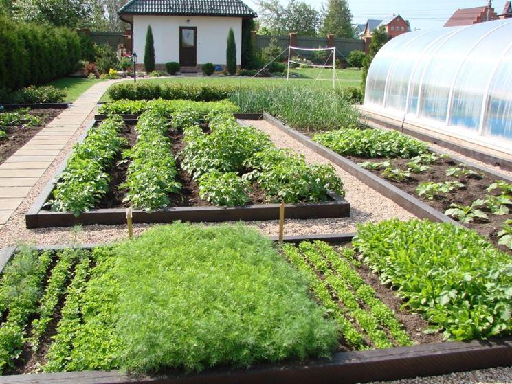 Progettare un orto - Progettazione giardini - Costruire orto