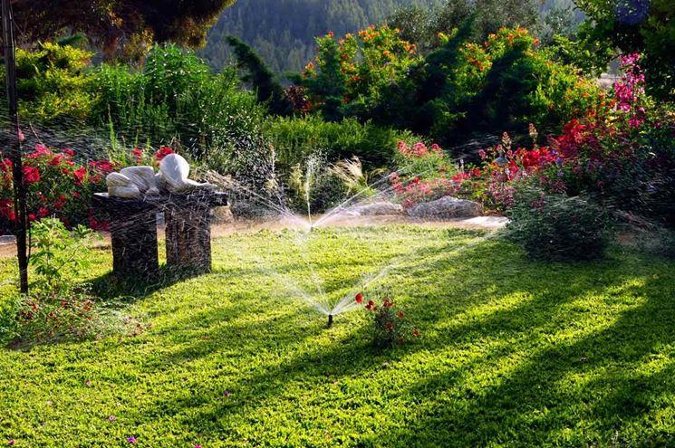Irrigazione giardini privati