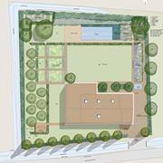 Progetto di un giardino privato