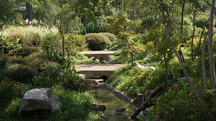 Un giardino zen