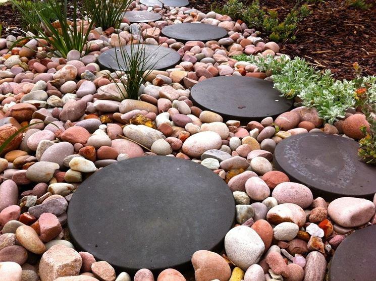 Favoloso Sassi per giardino - Progettazione giardini - Sassi per il  UL23