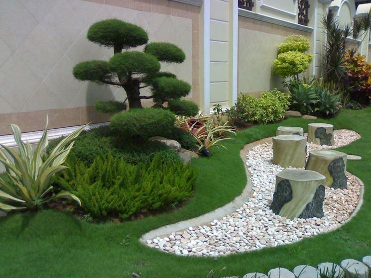 La modernità di una casa si sposa benissimo con un giardino giapponese