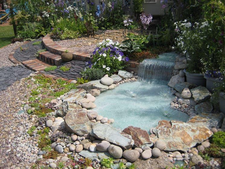 Stagno giardino