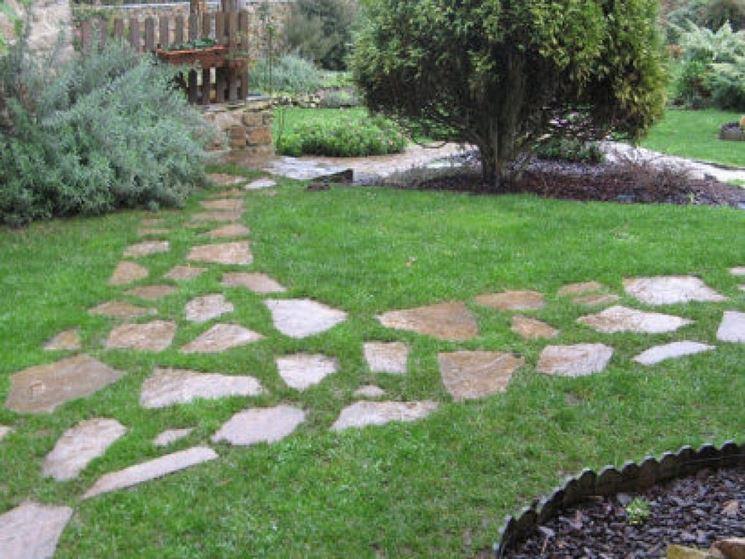 Vialetti da giardino progettazione giardini vialetti - Vialetti da giardino ...